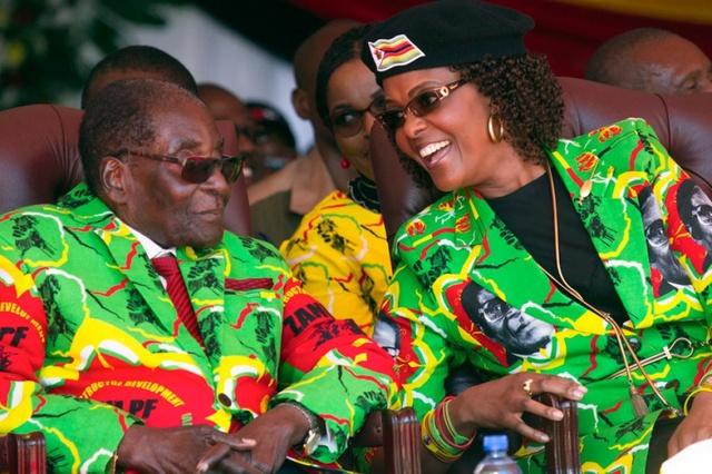 Robert e Grace Mugabe