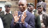 Maina Njenga considerato l'ex capo dei Mungiki al momento dell'arresto