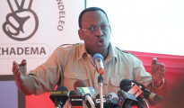 Tundu Lissu, oppositore di John Magufuli, presidente della Tanzania