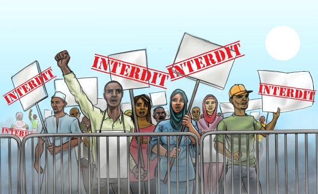In Ciad vietate 65 manifestazioni pacifiche i due anni (Courtesy Amnesty International)
