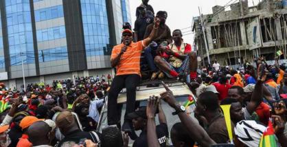 Dimostrazioni a Lomè
