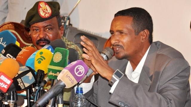 Mohamed Hamdan Daglo, comandante SRF