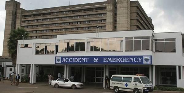 Il Kenyatta Hospital a Nairobi