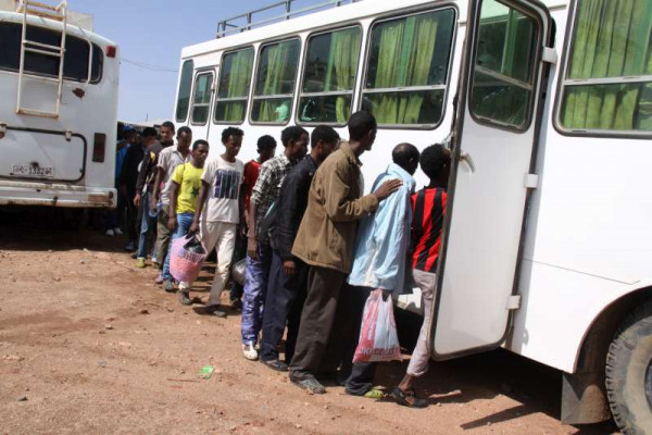 Deportazione forzata di eritrei dal Sudan