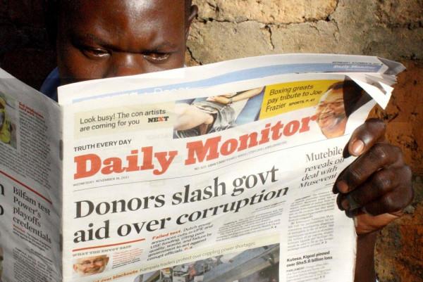 Uno dei tanti scandali sull'appropriazione di aiuti internazionali all'Africa