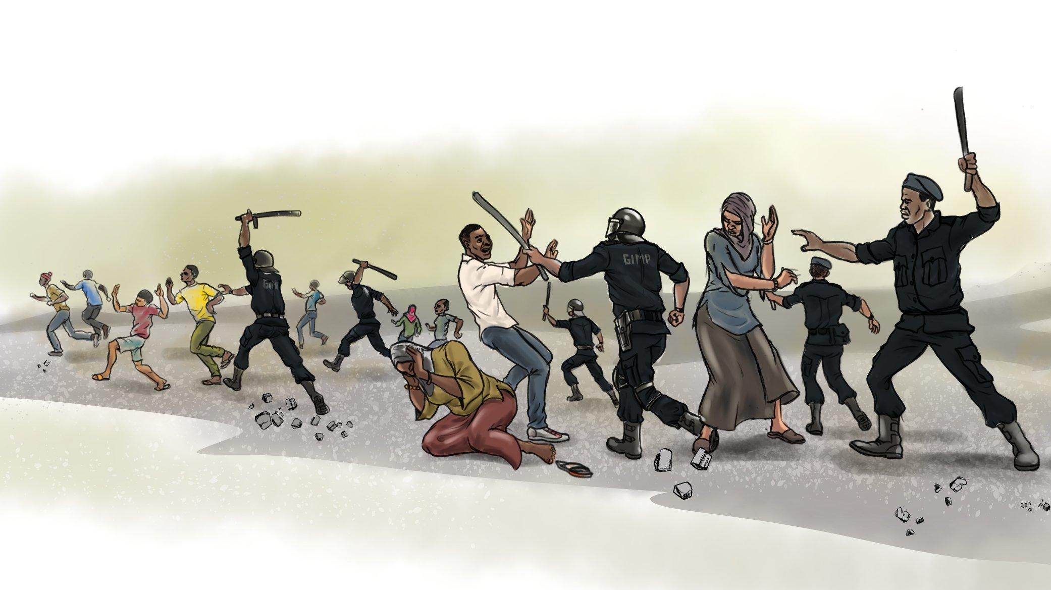 Repressione in Ciad (Courtesy Amnesty INternational)