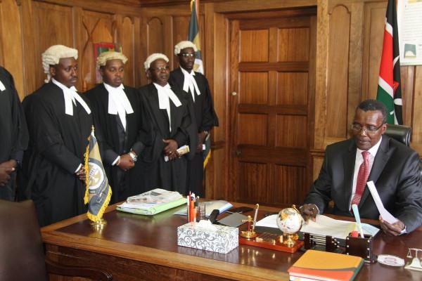 David Maraga, presidente della Corte Suprema del Kenya