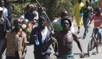 Dimostranti del NASA, oggi a Kisumu