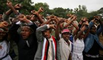 Proteste durante l'Irreecha, la festa del ringraziamento