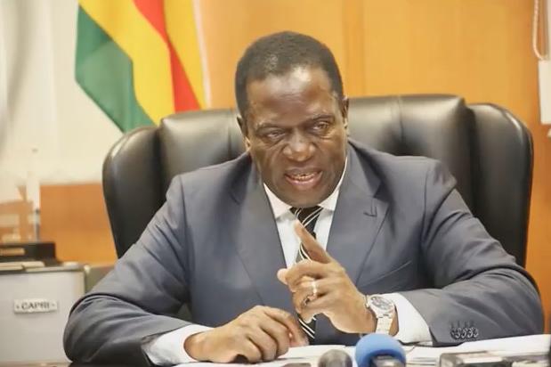 Emmerson Mnangagwe, vice-presidente silurato da Robert Mugabe