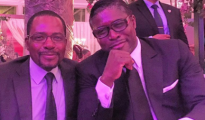 Gabriel Mbega Obiang Lima e il fratello Teodoro Obiang Nguema Mangue.