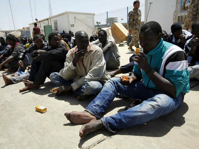 Migranti africani in Libia