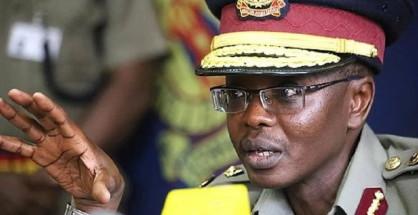 Josehp Boinnet, attuale capo della polizia del Kenya