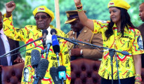 Robert Mugabe e Gucci Grace