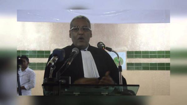 Muhamed Ould Moine, avvocato difensore del blogger