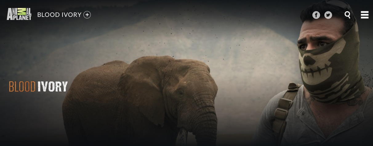 La pagina web di Blood Ivory