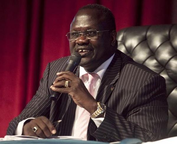 Riek Machar ex vice presidente del Sud Sudan