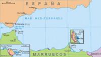 Mappa Ceuta-Melilla