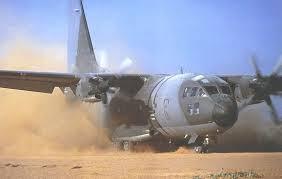 C-27J Spartan dans la poussière