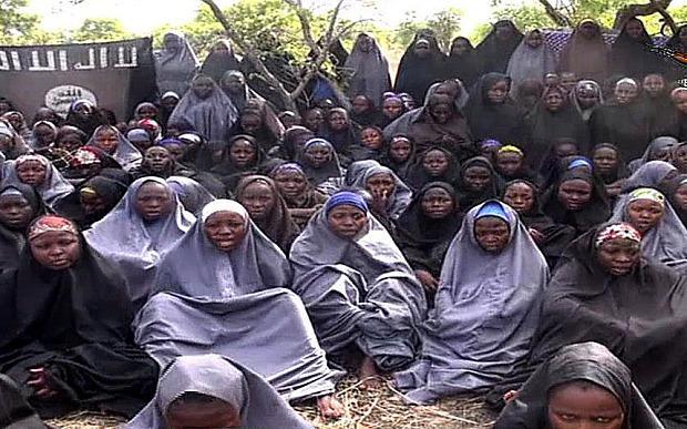 Studentesse di Chibok poco dopo il loro rapimento