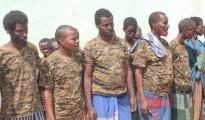Un gruppo di shebab arrestati