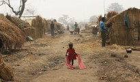 Kaga Bandoro refugee camp