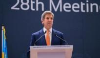 John Kerry, segretario di Stato americano a Kigali