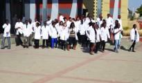 studenti della facoltà di medicina a Windhoek, Nambia