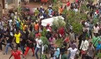 manifestazione a Bameda nel Camerun