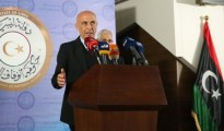 Il ministro all'Interno Marco Minniti a Tripoli.