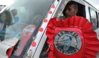 Gibuti Auto con stemma Guelleh
