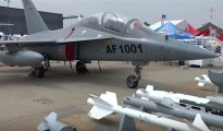 Uno degli aerei cinesi L-15AFT venduto allo Zambia