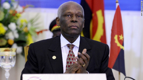 Eduardo Dos Santos, ex-presidente dell'Angola