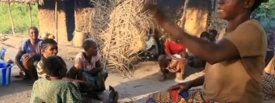 I pigmei hanno paura di essere uccisi dalle guardie anti-bracconaggio se trovati nella foresta