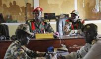 Udienza durante il processo contro militari a Juba, Sud Sudan