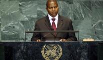 Faustin-Archange Touadéra alla 72esima Assemblea dell'ONU a New York
