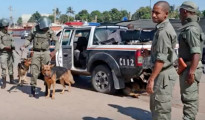 Poliziotti mozambicani