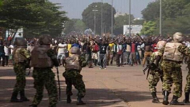 Protesta nel Camerun