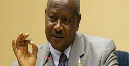 Yower Musseveni, presidente dell'Uganda