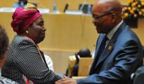 Nkosazana Dlamini-Zuma e Jacob Zuma