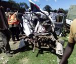 Il pauroso incidente di ieri sulla superstrada Eldoret-Nakuru