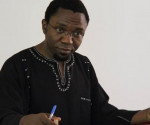 Lo scrittore/giornalista Patrice Nganang