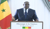 Macky Sall, presidente del Senegal