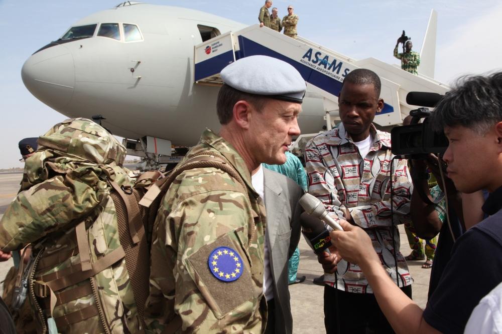 EUTM Mali arrives in Bamako