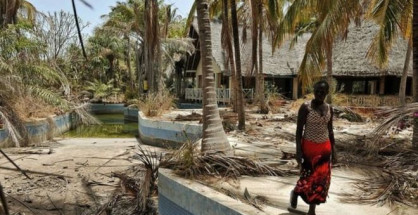 Villaggio nella regione senegalese di Casamance