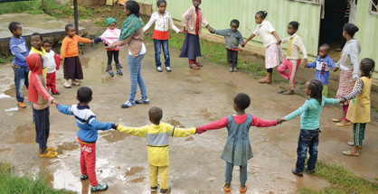 Bambini in Etiopia