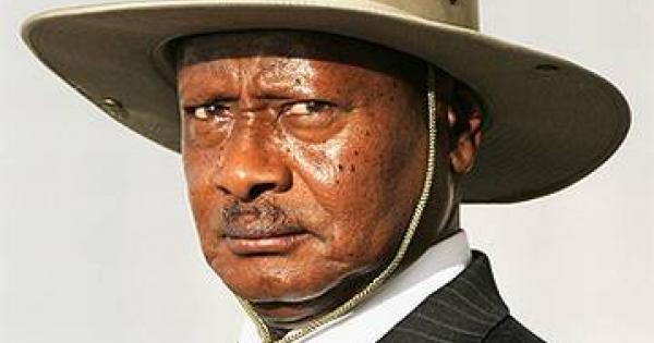 Yoweri Museveni, presidente dell'Uganda