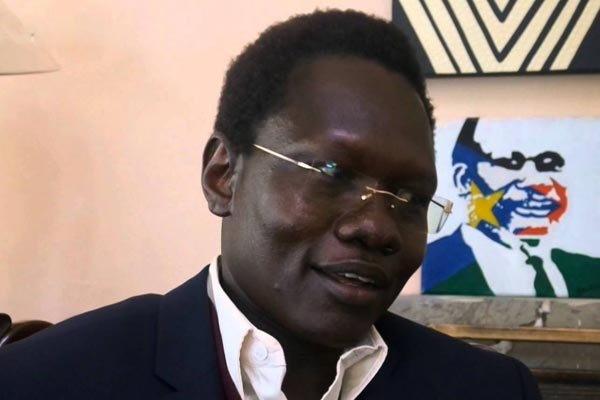L'Avvocato-attivista Dong Samuel luak, scomparso da Nairobi