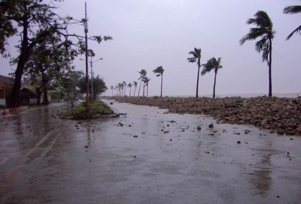 Ciclone in Madagascar