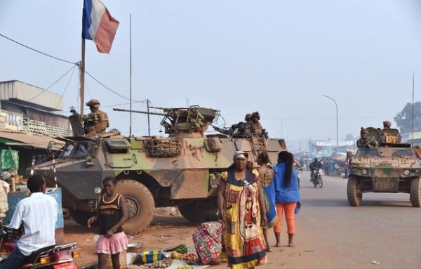 Soldati francesi nella Repubblica centrafricana